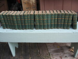 Lord Lytton Hard Cover Books - 22 Volumes