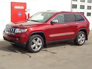 2012 Jeep Grand Cherokee Overland - Nav - Sunroof ~  $27,800