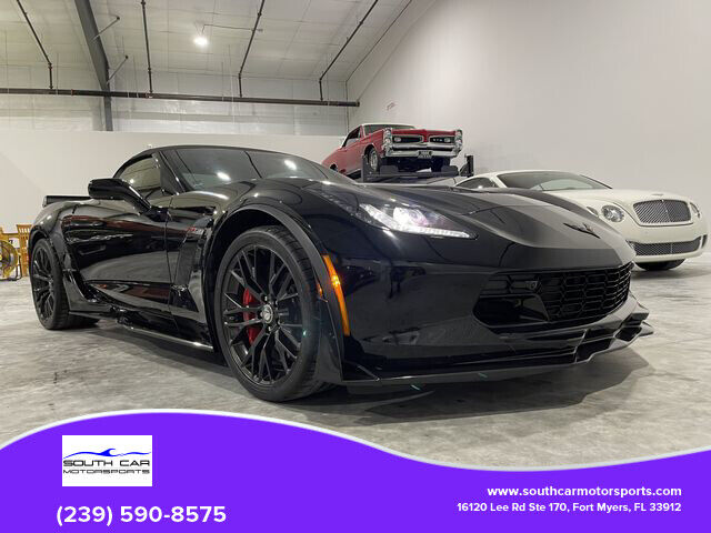 2016 Black Chevrolet Corvette Z06    C7 Corvette Photo 1