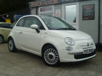 2011 FIAT 500 1.2 LOUNGE S AUTOMATIC {FSH} FINANCE AVAILABLE