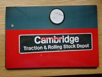 PHOTO  NAMEPLATE  CLASS 47  CAMBRIDGE TRACTION & ROLLING STOCK DEPOT NO 47736