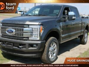 2018 Ford Super Duty F-350 SRW PLATINUM, 713A, SYNC3, NAV, HEATE