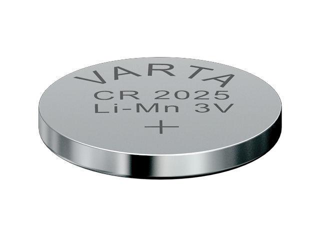 10x VARTA CR2025 Lithium Knopfzellen 3Volt NEU! CR 2025