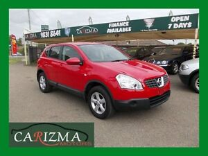 2009 Nissan Dualis J10 MY2009 ST 4X4 Red 6sp M Hatchback