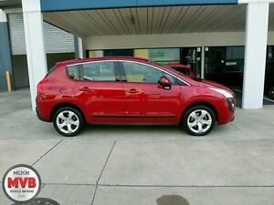 2010 Peugeot 3008 XSE 1.6 Turbo Red 6 Speed Automatic Wagon Ascot Brisbane North East Preview