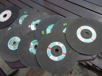 9 ins stone cutting discs