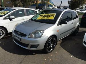 2006 Ford Fiesta WQ LX Silver 5 Speed Manual Hatchback Lidcombe Auburn Area Preview