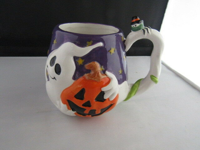Halloween Ghost Mug JC Penney