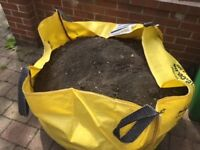 Free topsoil from the back garden