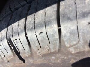 Brand New All Season Tires, Used for 2 Months ONLY