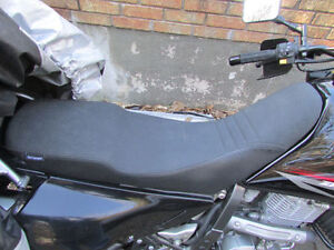 Suzuki DR650 dr650se seat concepts seat and pan