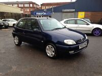 2003 CITROEN SAXO 1.1 DESIRE - ONE LADY OWNER - NEW M.O.T