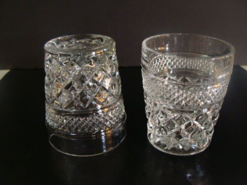 Anchor Hocking Wexford Pattern 2 Double Old Fashioned Glasses 10 On