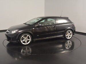 2007 Holden Astra AH MY07 SRI Turbo Black 6 Speed Manual Coupe Victoria Park Victoria Park Area Preview