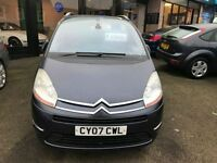 CITROEN C4 PICASSO 2.0 GRAND EXCLUSIVE HDI EGS 5d AUTO 135 BHP (purple) 2007