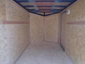 SUMMER CLEARANCE -2017 ENCLOSED 6X11' ENCLOSED CARGO TRAILER London Ontario image 3