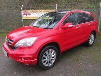 Honda CR-V 2.2 EX i-DTEC Turbo Diesel 5DR 4x4 (red) 2010