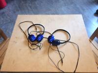 JCV basic headphones x 2