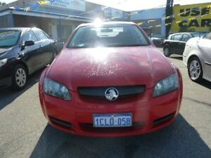 2006 Holden Commodore VE Omega Red 4 Speed Automatic Sedan