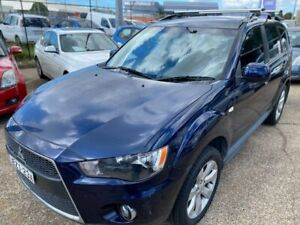2010 Mitsubishi Outlander ZH MY11 LS 2WD Sapphire 6 Speed Constant Variable Wagon Wickham Newcastle Area Preview