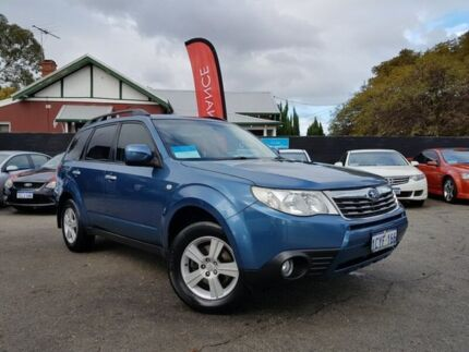 2008 Subaru Forester MY09 XS Blue 4 Speed Auto Elec Sportshift Wagon Mount Hawthorn Vincent Area Preview