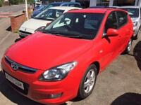 Hyundai i30 5 door petrol red 2009