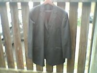 Taylor and Wright Blue Pin Mens Suit