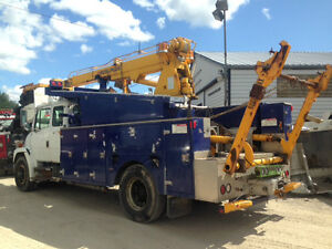 Bucket Truck Cable Truck FL80 2001 -Cherry Picker