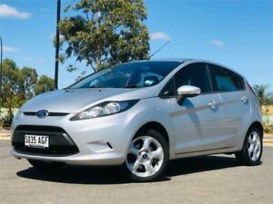 2010 Ford Fiesta WS LX Silver Manual Hatchback Mawson Lakes Salisbury Area Preview