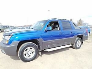 2003 Chevrolet AVALANCHE 4WD Z71 For Sale Edmonton