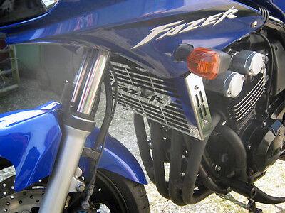 YAMAHA FZS 600 FAZER (98 - 03) STAINLESS STEEL RADIATOR COVER GUARD GRILL