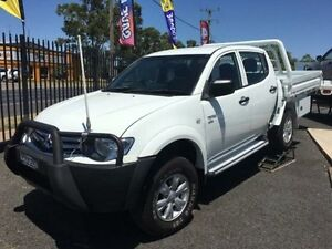 2011 Mitsubishi Triton MN MY11 GL-R (4x4) White 5 Speed Manual Dual Cab Utility Coonamble Coonamble Area Preview