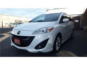 2012 Mazda Mazda5 GT AUTOMATIC, ALLOY, WHITE ONLY $$$$9499****