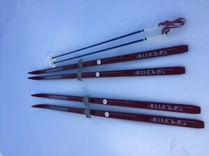 Nordic Cross Country Skis. 2 sets.  Various boots and more