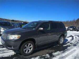 GREAT DEAL! 2008 Toyota Highlander SR5 7 PASSENGER! MADE JAPAN