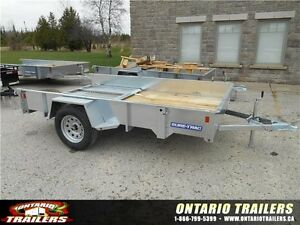 2016 Sure-Trac 6x10 Galvanized High Side Utility