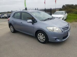 2010 Toyota Corolla ZRE152R MY10 Ascent Silver Blue 4 Speed Automatic Hatchback Officer Cardinia Area Preview