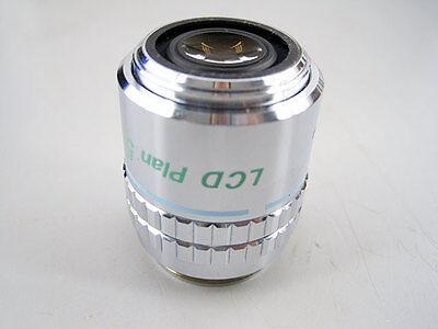 Nikon Lcd Plan 50 X 0.55 Elwd Dic Microscope Objective 50x Extra Lwd