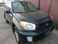 2003 TOYOTA RAV-4 AUTOMATIC AS IS $2900 FULLY LOADED AWD