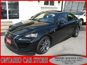 2014 Lexus IS 250 F SPORT AWD NAVIGATION BACK UP CAM