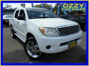 2006 Toyota Hilux GGN15R SR White 5 Speed Manual Dual Cab Pickup Penrith Penrith Area Preview