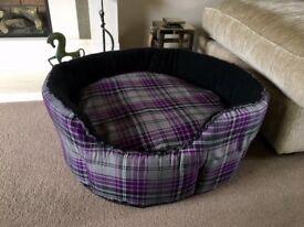 Luxury Dog bed (New) unwanted gift