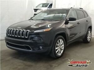 Jeep Cherokee Limited V6 4x4 Cuir MAGS Volant chauffant 2015