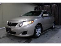2009 Toyota Corolla CE - CERTIFIED - LOW K/M - ONE OWNER
