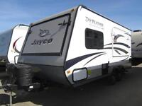 NEW 20 FT JAYCO JAY FEATHER ULT X18D LITE TRAVEL TRAILER