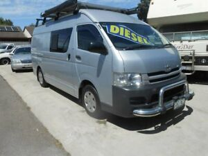 2009 Toyota HiAce KDH201R MY10 LWB Silver 5 Speed Manual Van Broadview Port Adelaide Area Preview