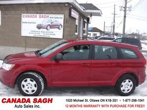 2010 Dodge Journey CLEAN SUV, 109km, 12M.WRTY+SAFETY $6900