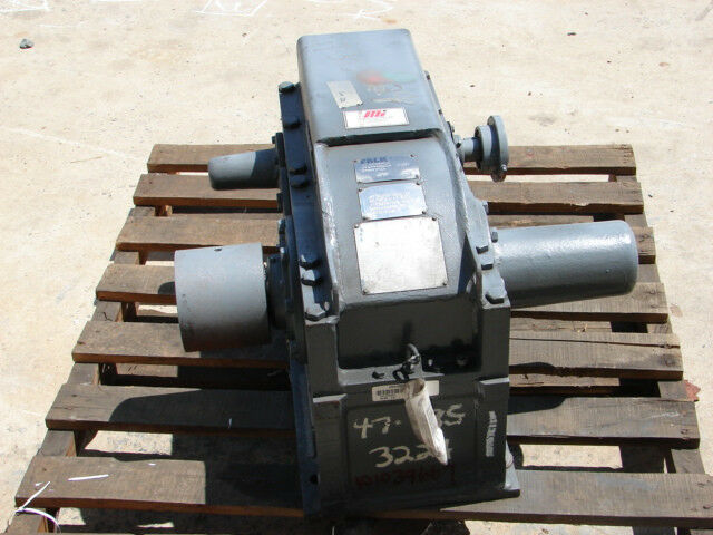 FALK 2060Y2-LD ENCLOSED GEAR DRIVE 9.968 RATIO RPM IN-1590 OUT-159.5 ***XLNT***