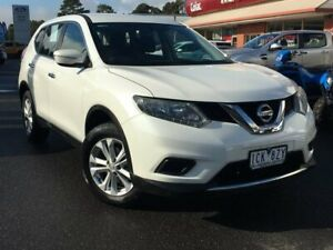 2014 Nissan X-Trail T32 ST White Constant Variable Colac West Colac-Otway Area Preview