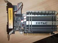 PC,2gb graphic card zotac gt730.PCI-E no texts plz.